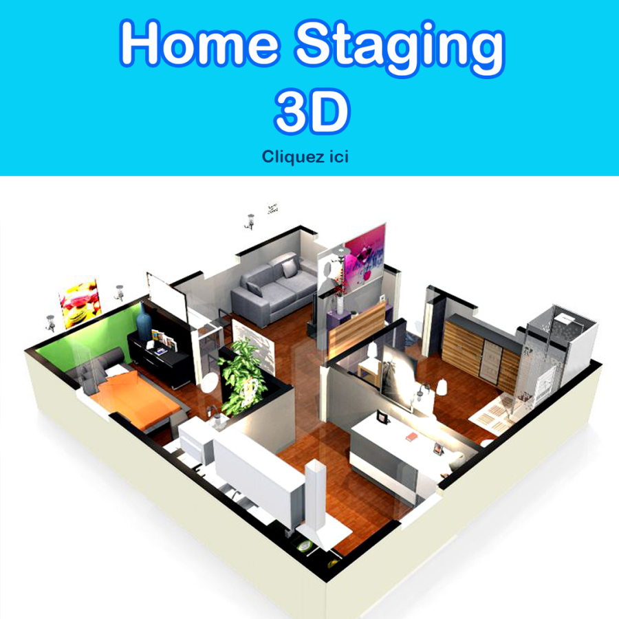 Home staging 3D VIRCOM