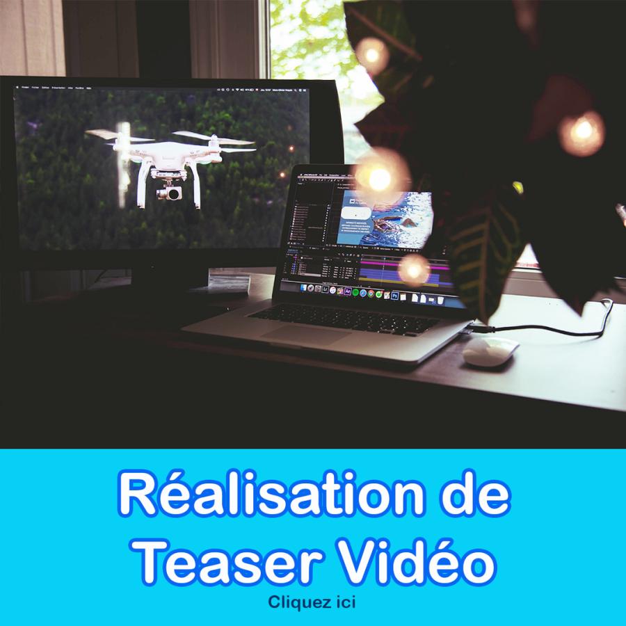 Réalistion de teaser vidéo VIRCOM