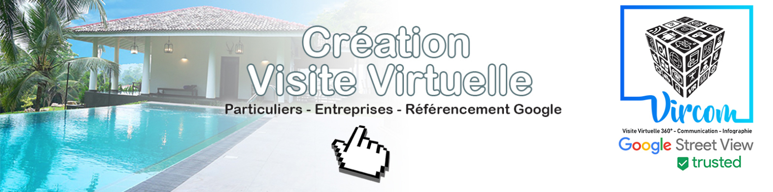 bandeau page visite virtuelle VIRCOM