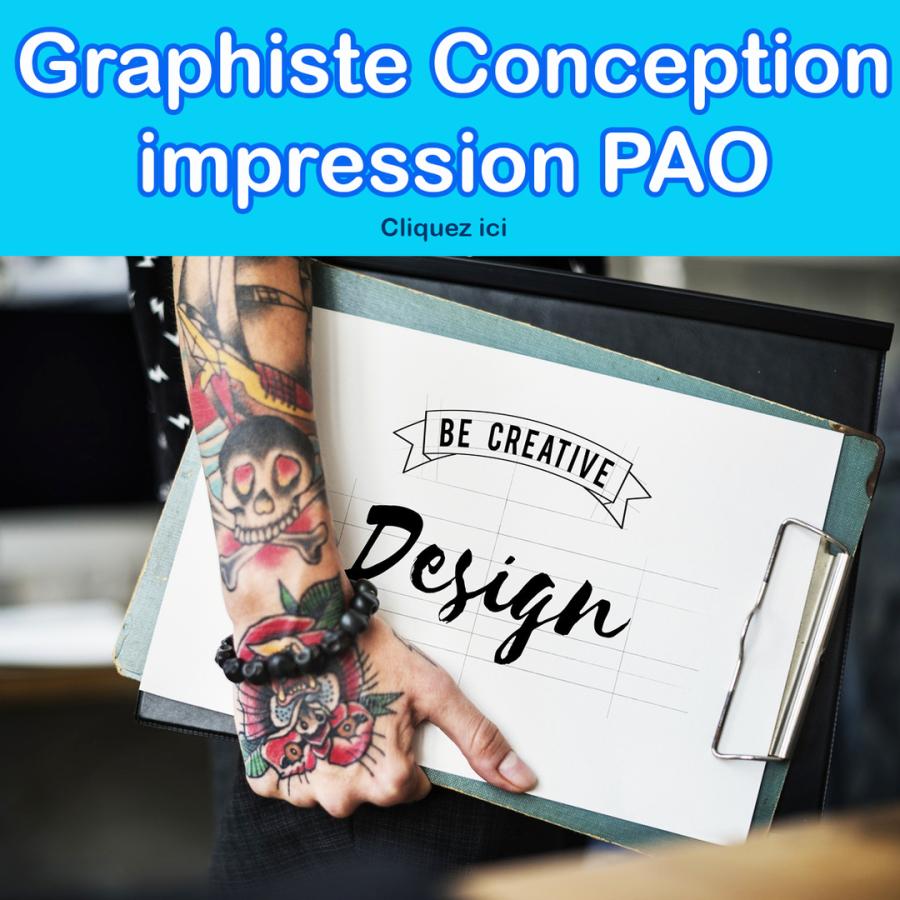 graphiste conception impression PAO VIRCOM