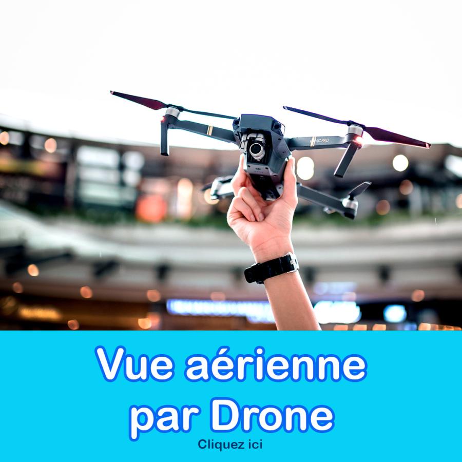 vue aérienne par drone vircom
